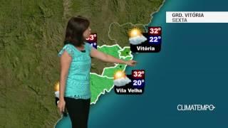 Previsão Grande Vitória – Ar fica seco