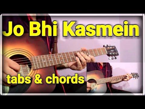 Jo Bhi Kasmein - Raaz   Guitar Cover & Lesson for Beginners