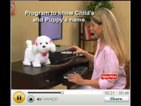 Puppy Grows And Knows Your Name