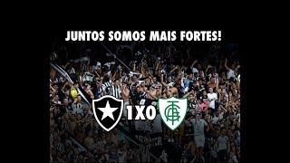 Na arquibancada - Botafogo X América MG