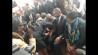 Muhammad Swazuri's arrogance finally silenced with steael-handcuffs