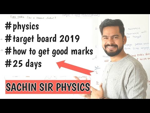 #physics #target #board #2019 How to prepare physics for remaining days ?| Motivation