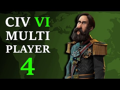 Civilization 6: Multiplayer Brazil - Episode 4 - Sneaky China