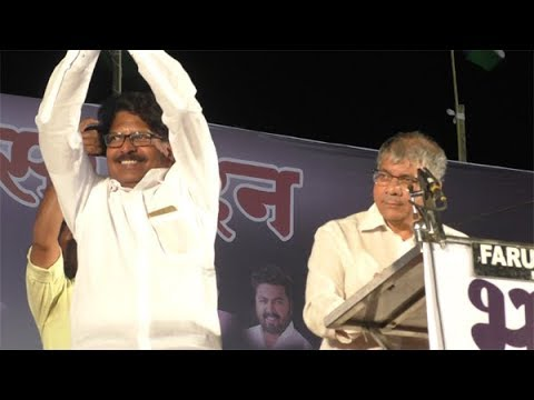 Prakash ambedkar in latur, public meeting by ambedkar in latur 050219