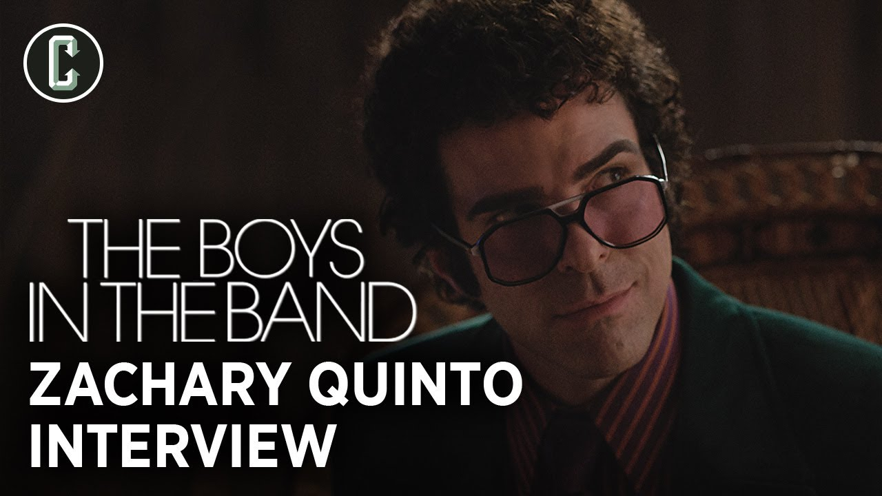 Zachary Quinto on The Boys in the Band and His Love of Pedro Almodóvar