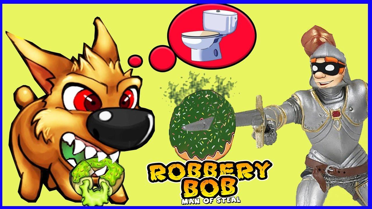 ВОРИШКА БОБ 1 49 Новая серия ПРИКОЛЫ ВСЕ ИЩУТ УНИТАЗ БОБ КАК РЫЦАРЬ Игровой мультик по игре Robbery