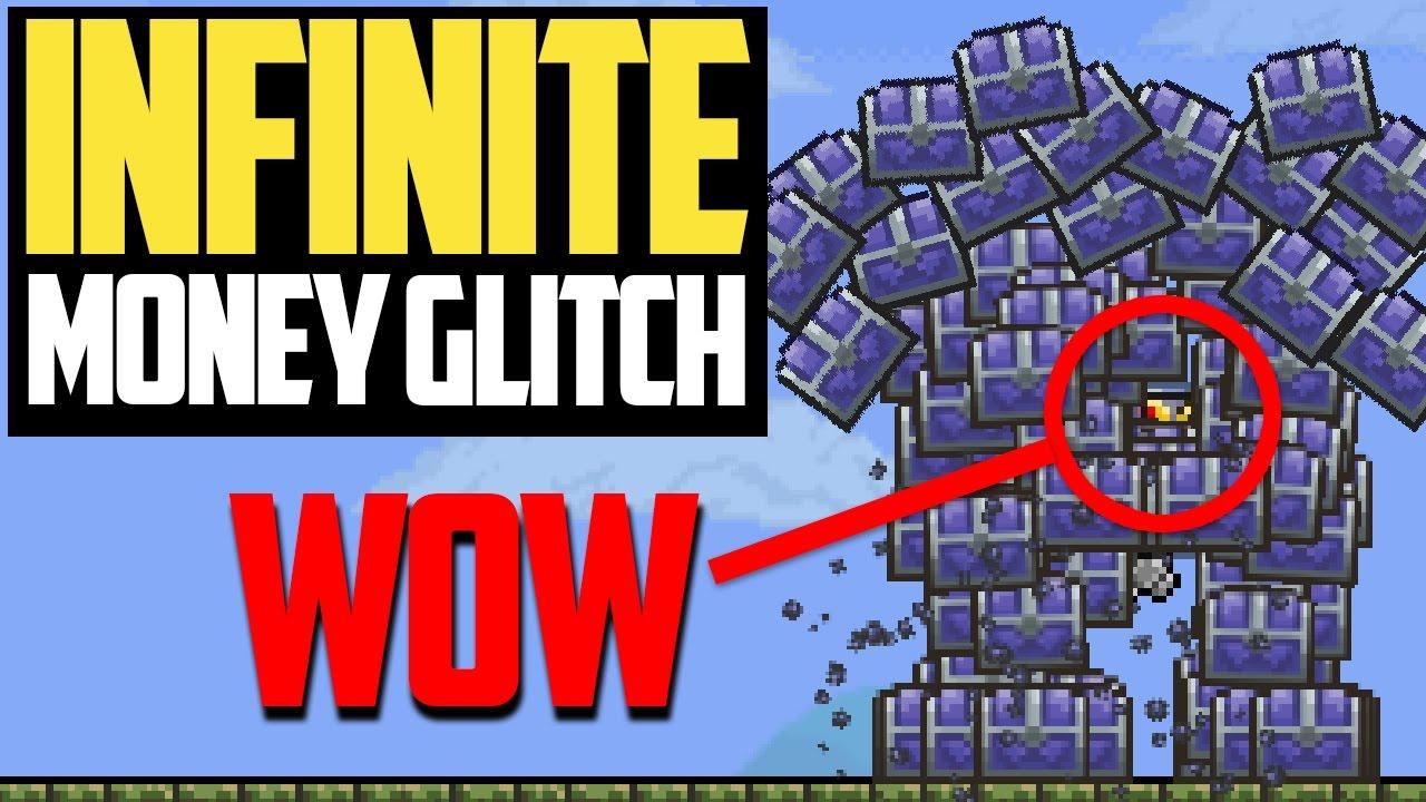 Terraria Legendary Glitches - The Infinite Money Glitch (1 1 Update)