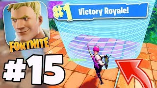 "VICTOIRE Royale EN DEHORS DE LA TEMPÊTE! - Fortnite Battle Royale #15 - ""New POWER CHORD SKIN World Record"""