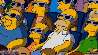 The Simpson - The Simpsons Family Led Each Other To The Movies!