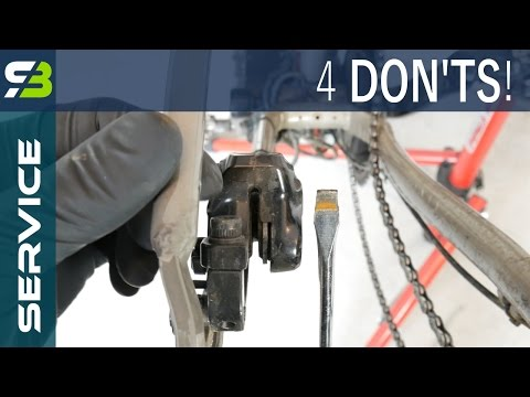 4 Mistakes During Disc Brake Pads Replacement On Your Bike.