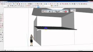 How To Make A Skillion / Sloping Roof In Sketchup Using Plusspec
