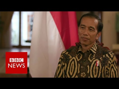 Indonesia's President Joko Widodo Interview - BBC News