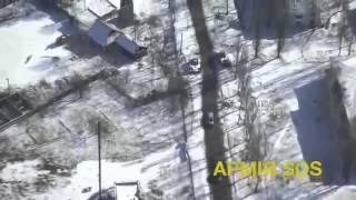 Война За ДЕБАЛЬЦЕВО видео с воздуха вывод украинских войск из Дебальцево