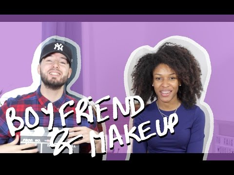 BOYFRIEND DOES MY MAKEUP // Beautiful Naturelle & Nvthlss