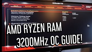 BEST RAM FOR RYZEN 3200MHZ EASY OVERCLOCKING TIPS