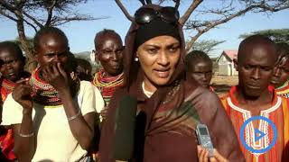 Victims of police brutality in Ngaremara ward,Isiolo receive aid from Woman Rep Rehema Jaldesa