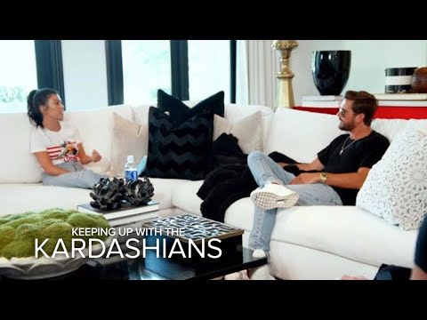 KUWTK | Khloe Tries to Help Kourtney & Scott Hash Out Their Drama | E!