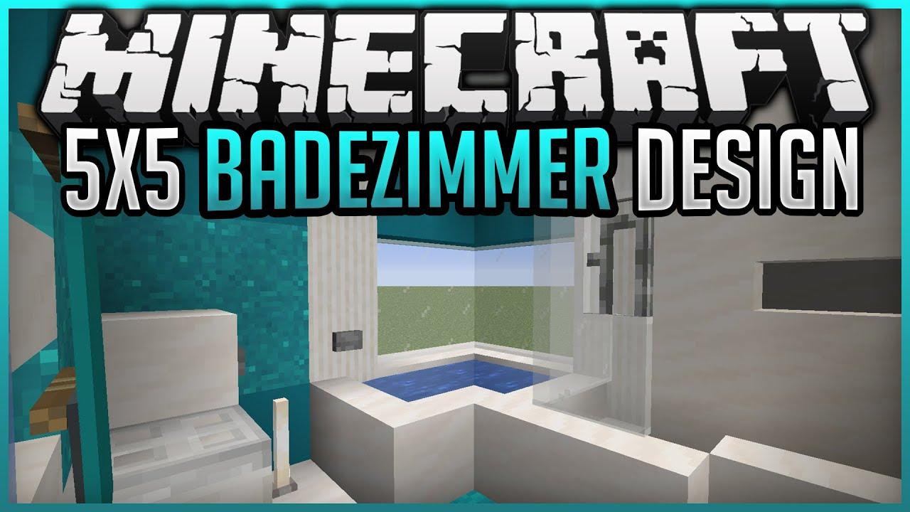 100x100 Badezimmer bauen Tutorial✨ Minecraft 10.10100 ✨ErikOnHisPeriod