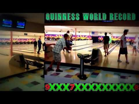 OFFICIAL GUINNESS WORLD RECORD - Most Bowling Strikes In 1 Minute