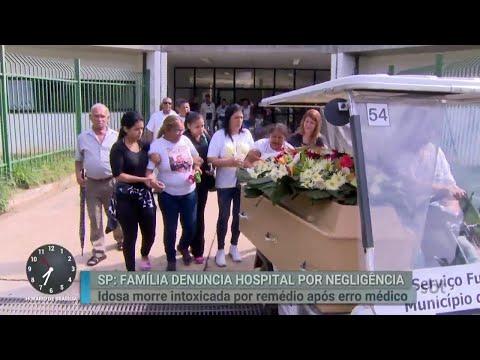 Família acusa médicos de negligência após morte de idosa em hospital  | Primeiro Impacto (29/03/18)