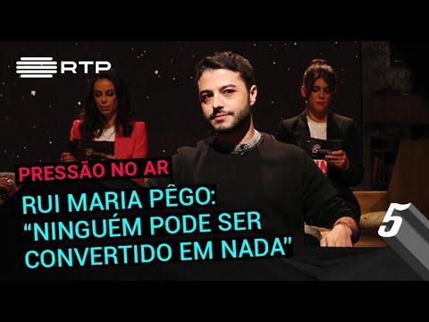 Rui Maria Pêgo: 'Ninguém pode ser convertido em nada' | 5 Para a Meia-Noite | RTP