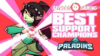 TOP 5 BEST SUPPORTS IN PALADINS! (Competitive Tier List!)