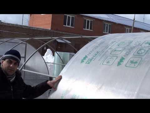 Как накрыть теплицу поликарбонатом своими руками