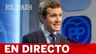 DIRECTO   CASADO clausura una convención del PP en Zaragoza