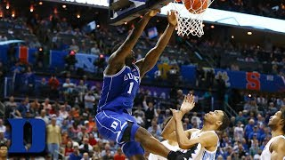 Zion Williamson: ACC Basketball's Best Performances