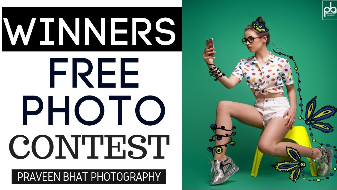 Free Photoshoot Contest Winners | Instagram Photo Contest | Modeling Acting Tips |