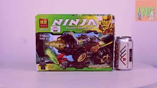 Ниндзяго Мастера Кружитцу - Обзор На Китайский Конструктор (За 400 руб)