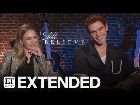 KJ Apa And Britt Robertson Talk Reuniting In 'I Still Believe'