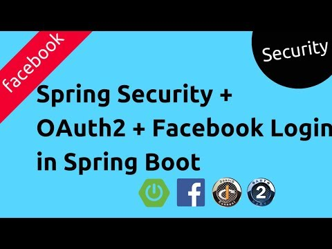 Spring Security OAuth2 Using Facebook In Spring Boot | Security Primer | Tech Primers