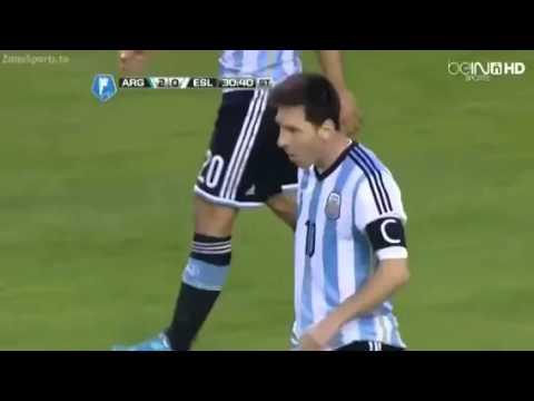 Argentina vs Slovenia 2-0 ~ 07/06/2014 HD