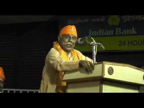 SV Sridhar public meeting speech