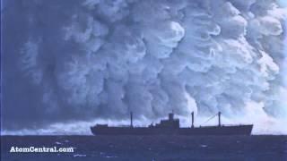 Explosion sous Marine
