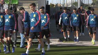 La Selección prepara el partido frente a Croacia