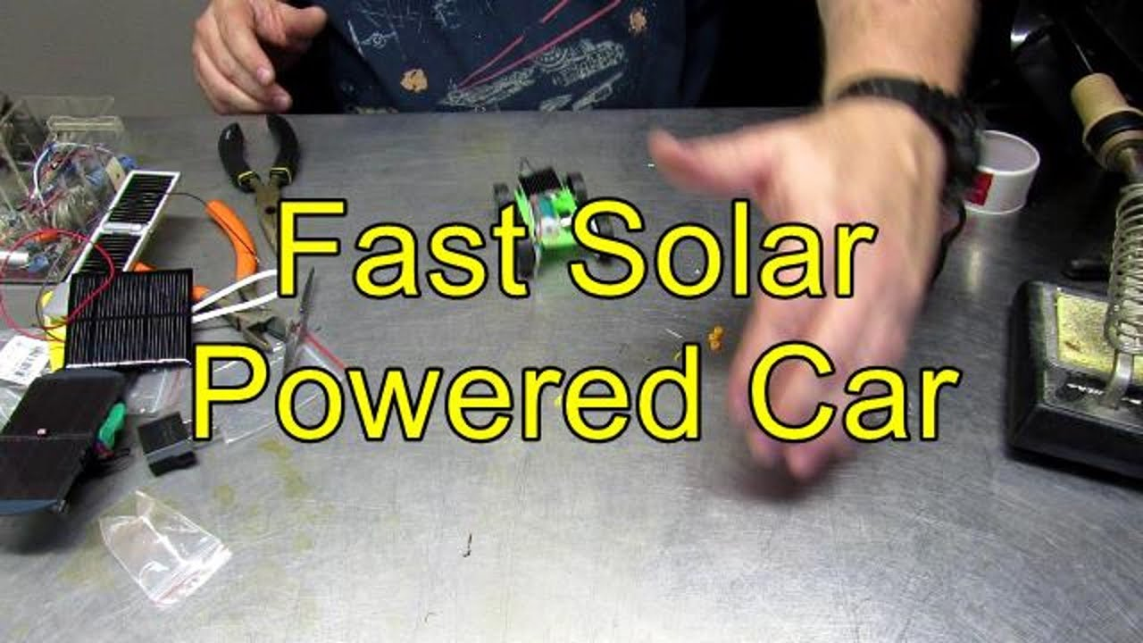 Fast solar model car with more power youtube solutioingenieria Choice Image