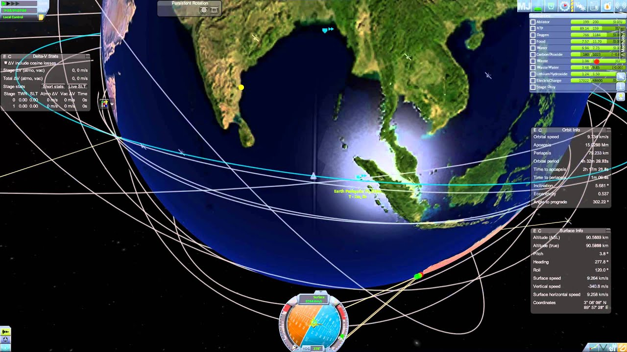 Kerbal Spaceships Are Serious Business - Episode 16 on play map, space map, ksp map, game map,