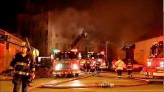Chicago 5-11 Alarm Warehouse Fire