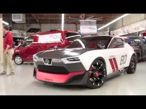 Nissan IDX Concept Driven