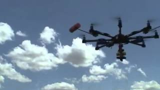 OCTOCOPTER DRONE TESTING FOR AERIAL PHOTOGRAPHY