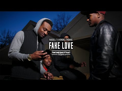 Russell T x Kendall Thomas - Fake Love | Official Music Video | TWONESHOTTHAT™