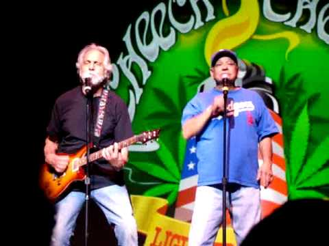 Cheech and Chong - Mexican Americans - Beaners - Live In North Carolina [4/3/09]
