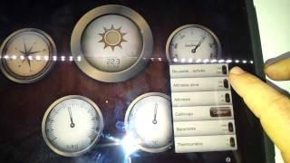 Test: Un iaccessoire pour transformer son iPad en station météo (2/2)