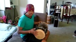 Pani da rang covered on dholak by ashneel singh