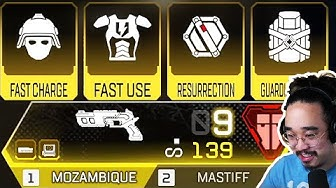 THIS IS THE *NEW* OVERPOWERED GOLD MOZAMBIQUE + ALL LEGENDARY ARMOR + GOLD MASTIFF (Apex Legends)