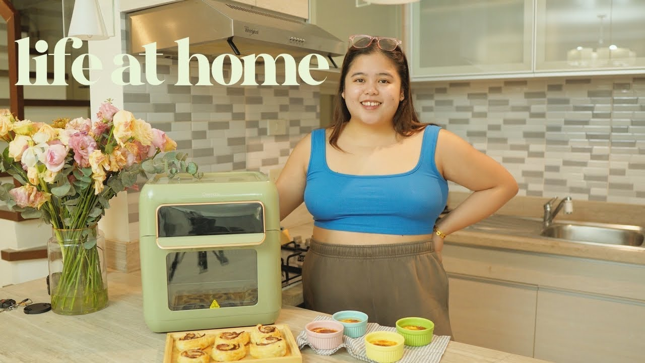 Download LIFE AT HOME: Trying New *easy* Recipes & *making* a Relaxing Home Café 🥐🍅🧀   Jammy Cruz