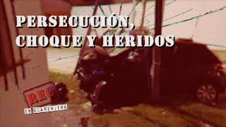 PERSECUCIÓN, CHOQUE y HERIDOS - ENTRADERA a una FAMILIA - El BORRACHO del ZANJÓN - #REC