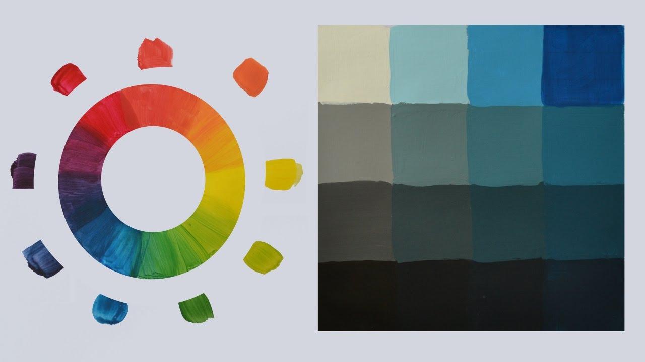 Color tono valor saturaci n curso de pintura youtube - Tonos de pintura ...